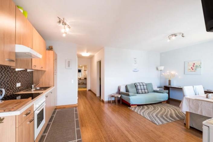 Wohnzimmer Apartment 1