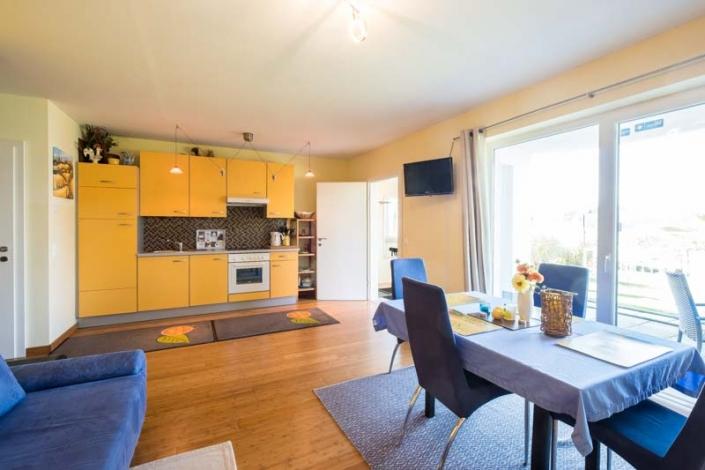 voll ausgestattete Küche Apartment 2