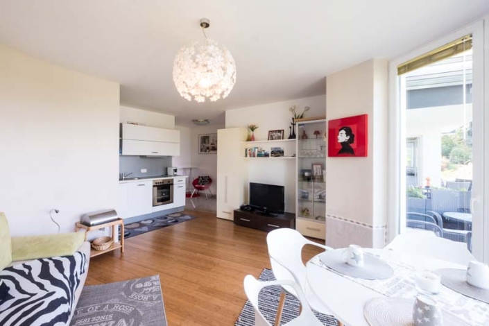Wohn/Essbereich Apartment 3