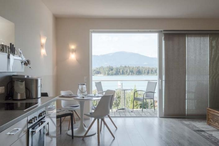 Blick auf den Faaker See, Lakeside Apartment 4
